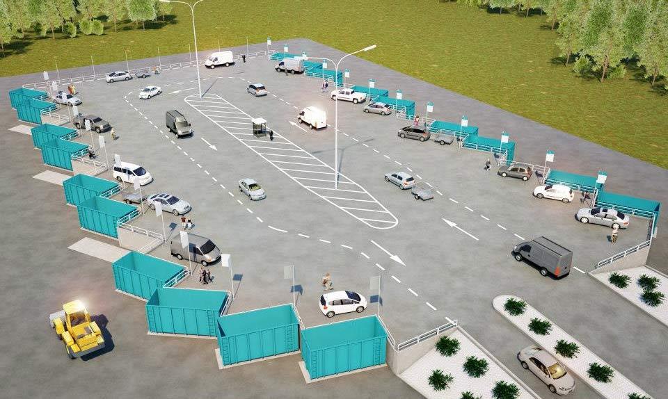 NSR nya återvinningscentral